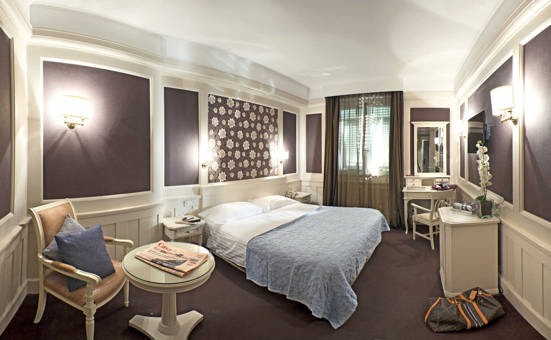 Camere europa hotel design spa 1877 for Design hotels europa